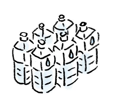 ペットボトルの水の種類
