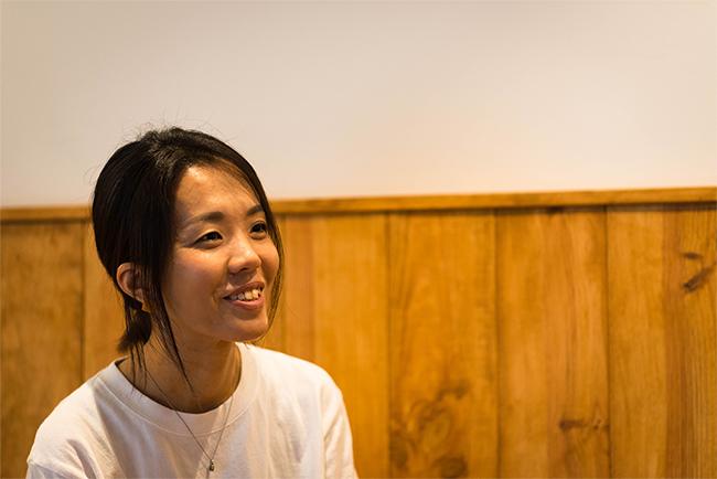 cafe Baskオーナー上山飛香瑠さんにお話をお伺いしました。
