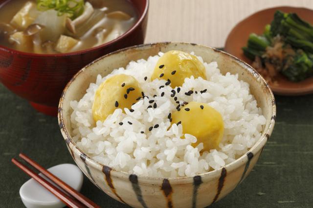 栗ご飯・鶏ごぼうご飯・さつまいもご飯のレシピ