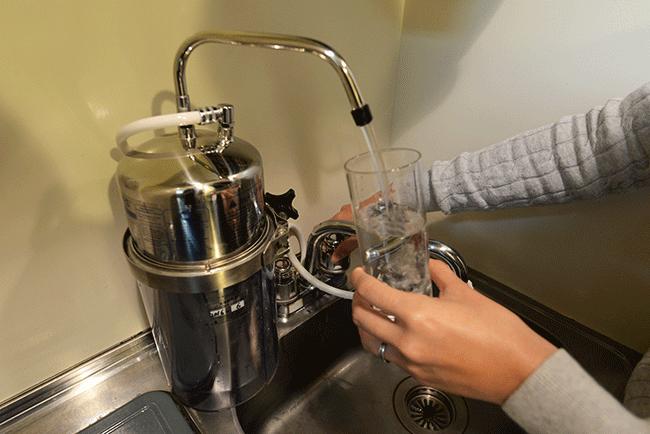 マルチピュア浄水器に替えてから、見えない不安がなくなりました