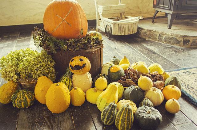 ハロウィンの由来とハロウィンスイーツ マクロビかぼちゃスコーンレシピ