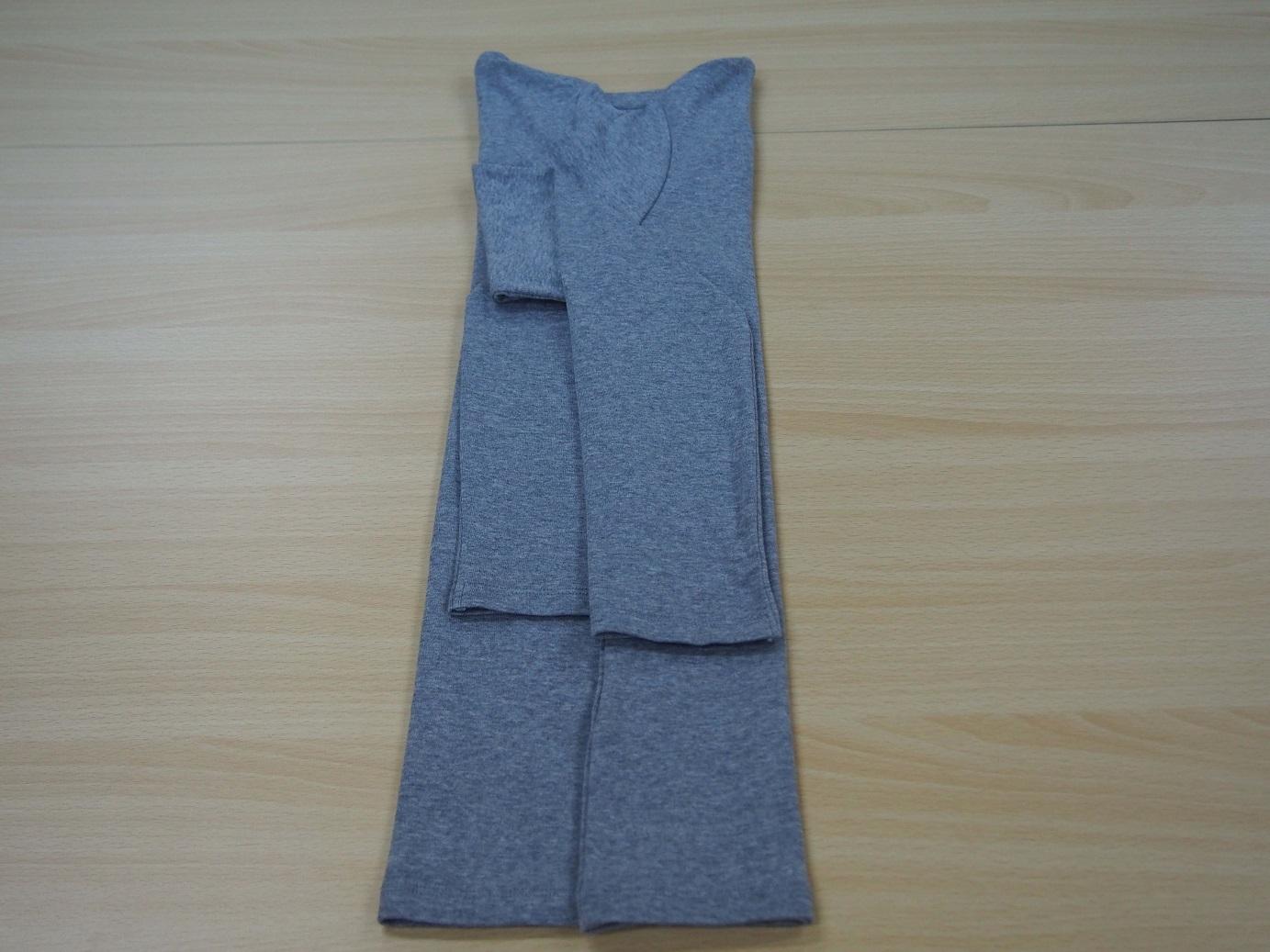 こんまり流 長袖のたたみ方8