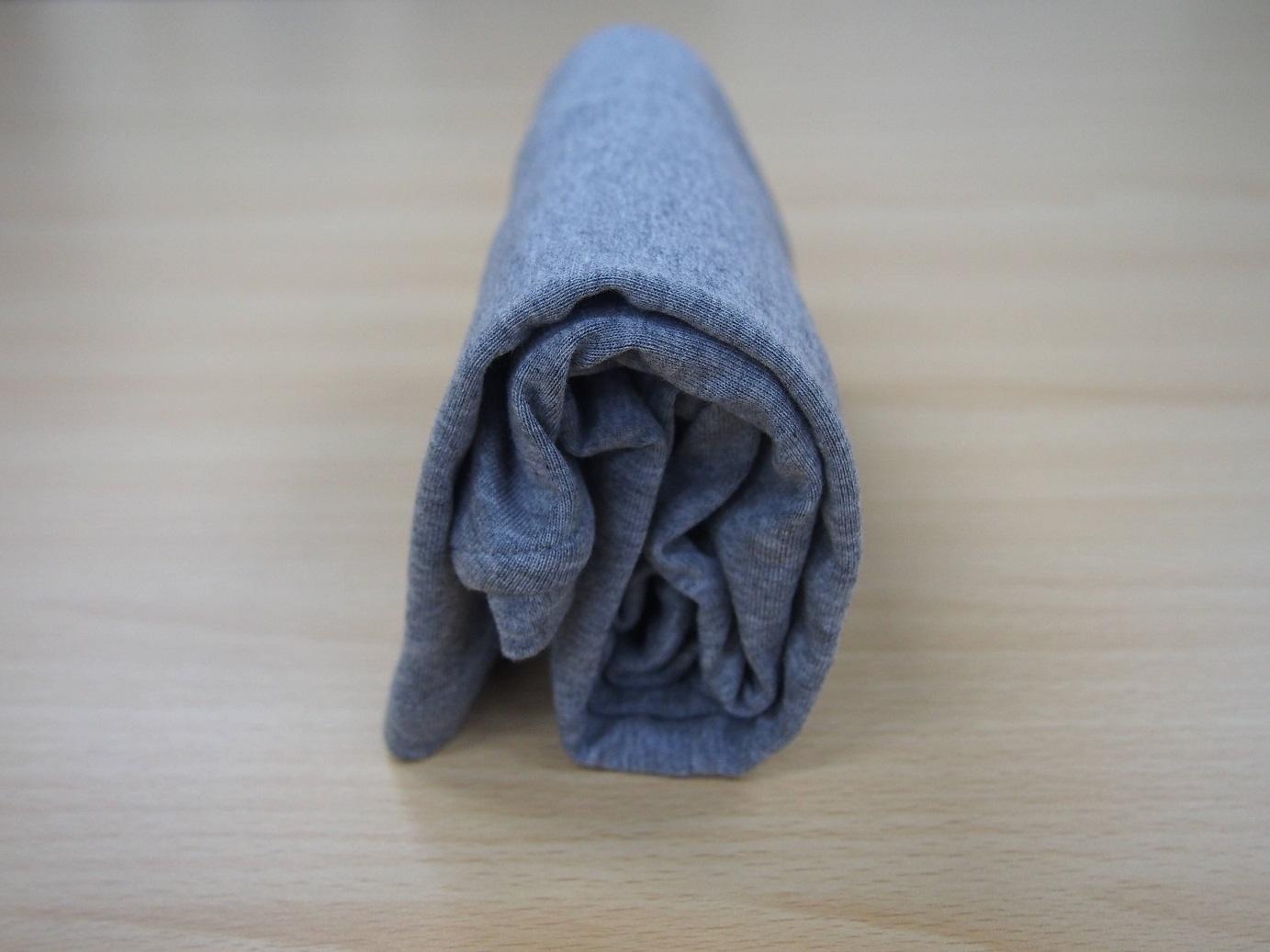 こんまり流 長袖のたたみ方11