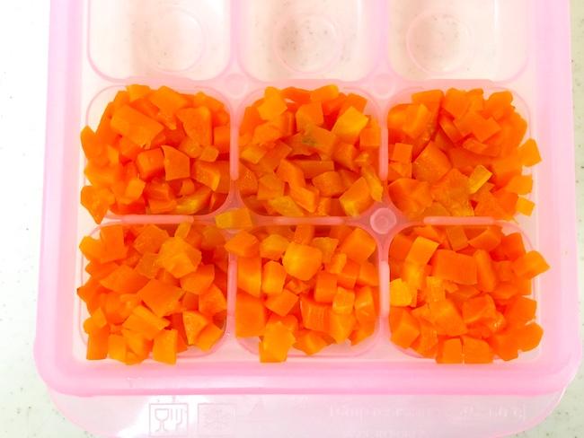 離乳食の冷凍ストックを使って子供が楽しめる食事を作ろう