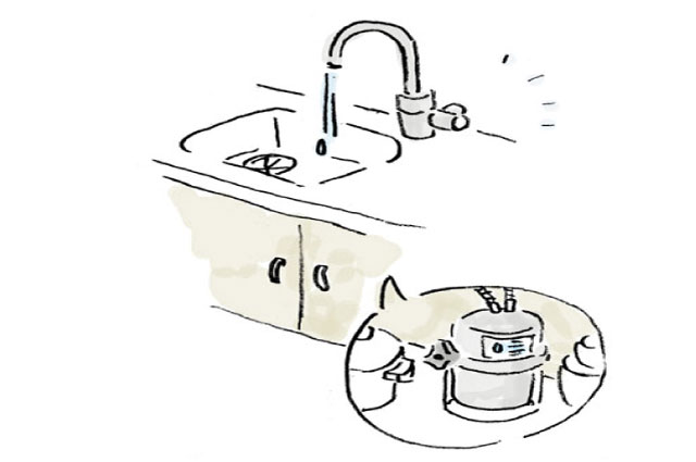 ウォーターサーバーと浄水器